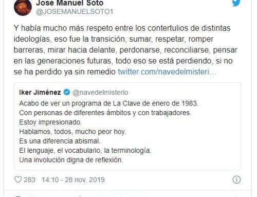 ¿QUÉ AÑORAN JOSÉ MANUEL SOTO E IKER JIMÉNEZ?