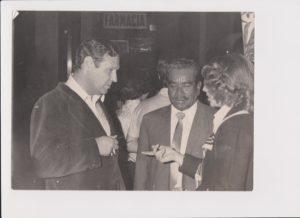 JoseLuisBalbín con el hijo de Emiliano Zapata